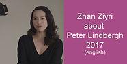 Peter Lindbergh Pirelli 2017 Zhan Ziyri