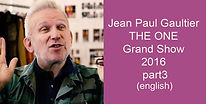 Jean Paul Gaultier THE ONE Grand Show 20