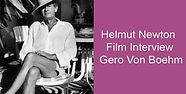 Helmut Newton Film Interview Gero Von Bo
