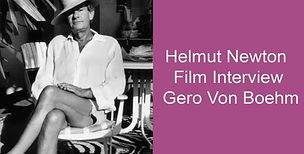 Helmut Newton Film Interview Gero Von Bo
