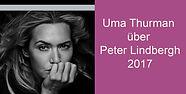 Peter Lindbergh Pirelli 2017 Uma Thurman