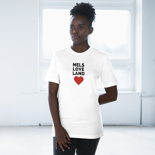 Mels Love Land Unisex Deluxe T-shirt