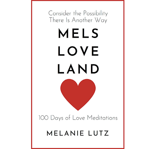 Mels Love Land Book Signed