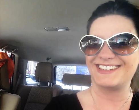 Mel In Car in Colorado with Scarf_edited