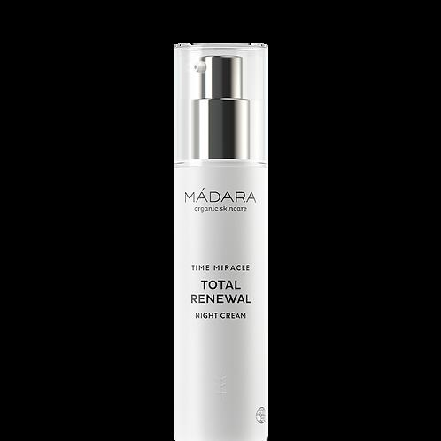 TESTER SACHET Madara TIME MIRACLE Total Renewal Night Cream