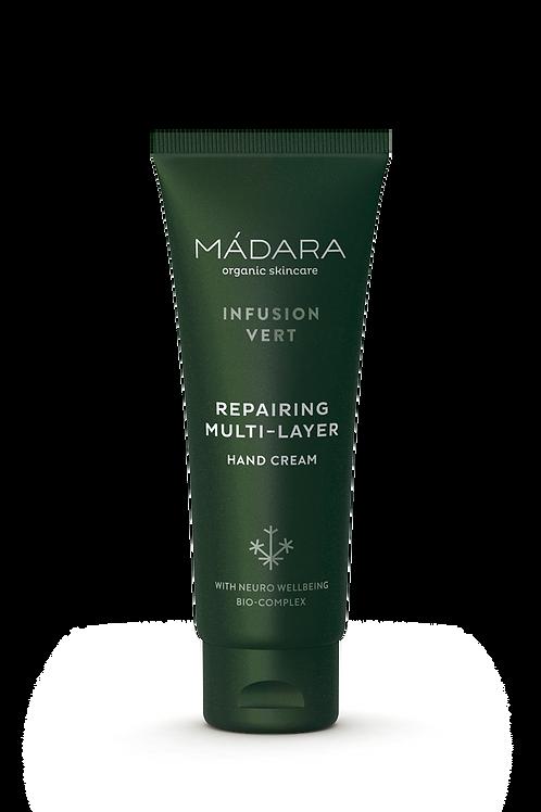 Madara Infusion Vert Repairing Multi-Layer Hand Cream