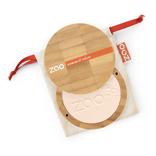 Zao Translucent Mattifying Compact Powder / Bronzer