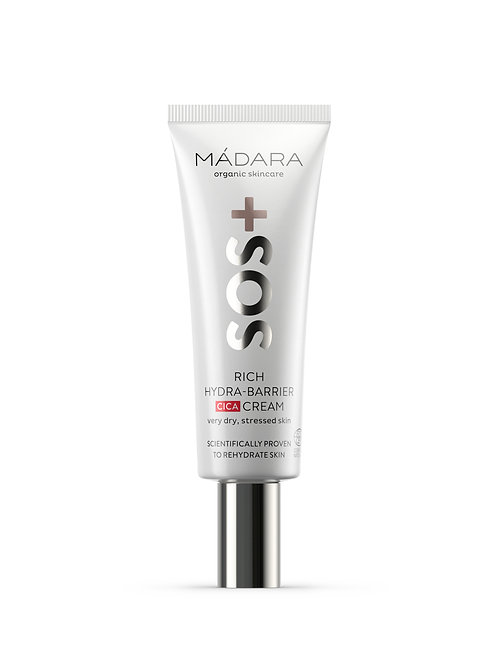 Madara SOS+ Rich Hydra-Barrier CICA Cream