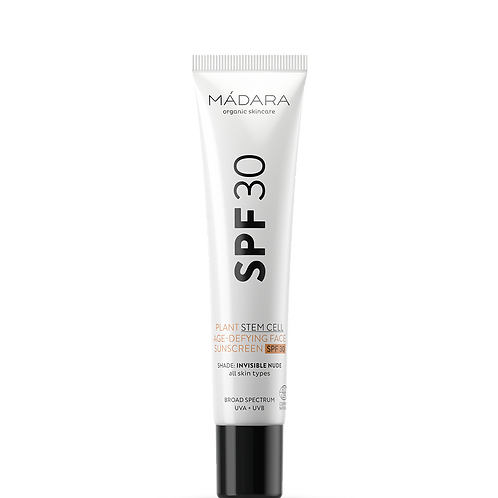 Madara Plant Stem Cell Age Defying Sunscreen SPF30 (FACE)
