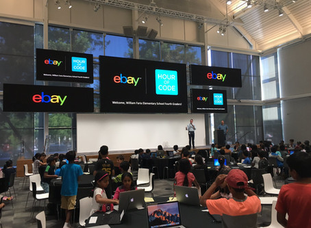 Hour of Code @ eBay