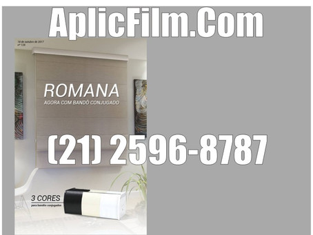 Cortina Romana com Bandor Conjugado