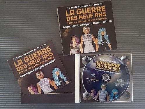"""La bande originale du spectacle """"La Guerre des Neuf ans"""""""