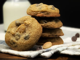 Chocolate Chip Marcona Almond Cookies