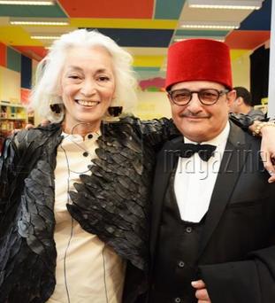 Dora Bouchoucha et Raouf Ben Amor