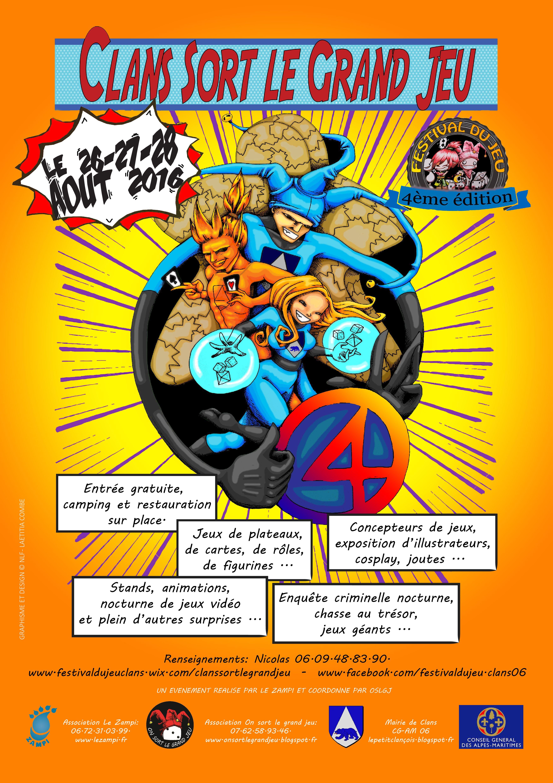 Edition 4 - 2016 - Clans sort le grand j