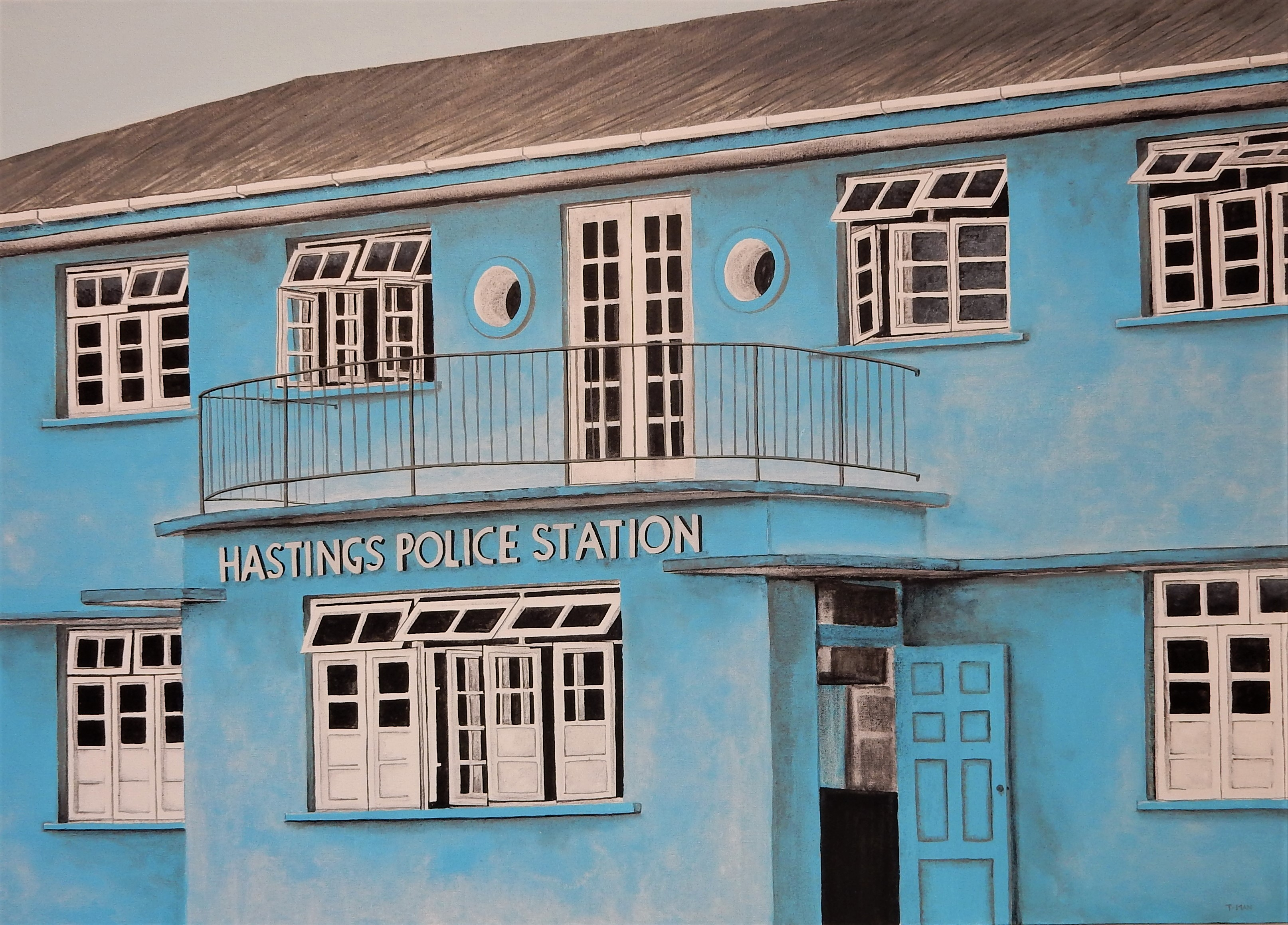 Hastings Police Station