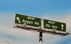 West Argyll Rd or 82 Ave.