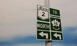 Alberta 2 North to 16