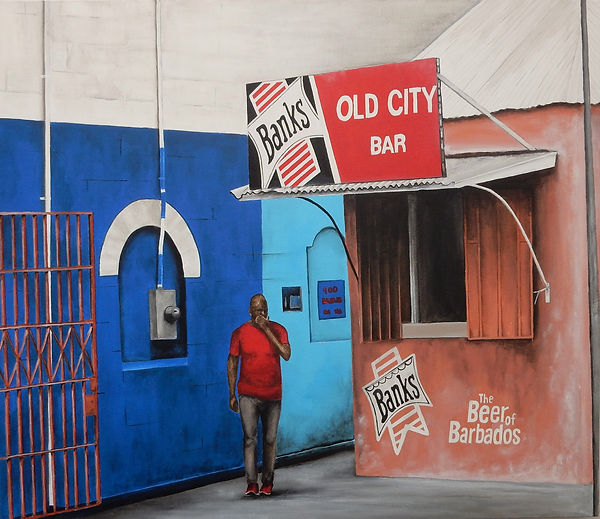 Old City Bar Barbados Trueman Macdonald