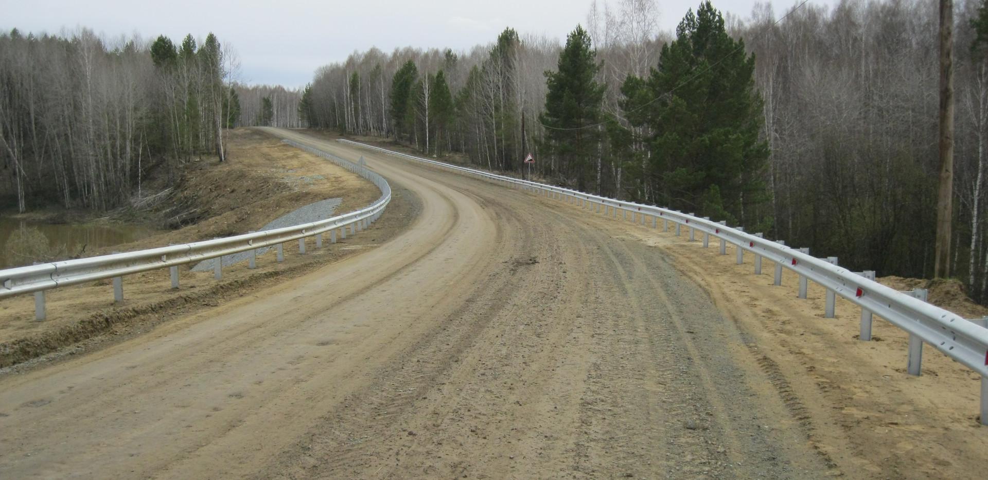 Реконструкция автомобильной дороги Муром