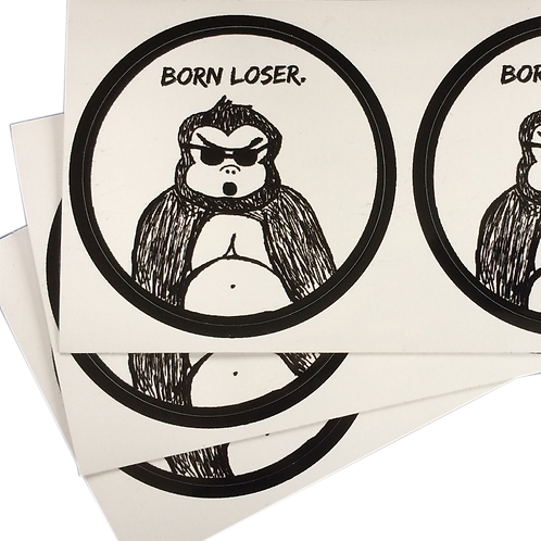 "Born Loser ""Coolrilla"" Sticker"
