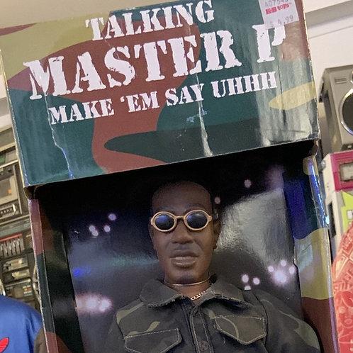 Rare Talking Master P Action Figure [NIB]