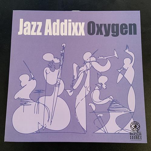 """Mega Rare Vinyl Album Jazz Addixx """"Oxygen"""""""