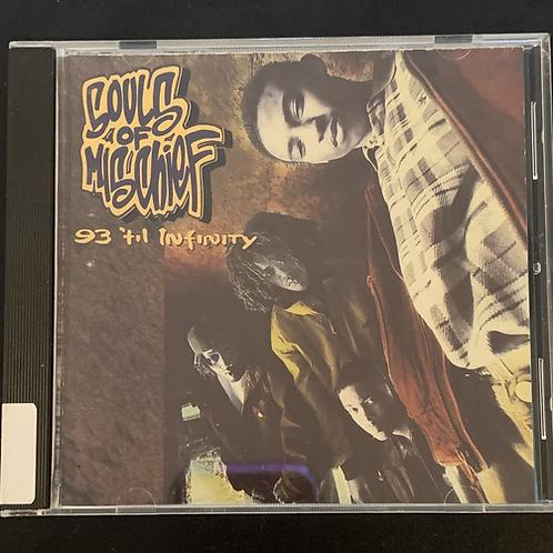 """Rare OG Souls of Mischief CD """"93 'til Infinity"""""""