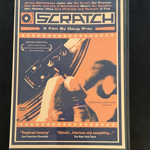 SCRATCH The Movie OG DVD
