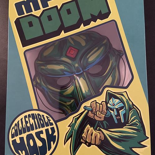 Rare MF DOOM Limited Edition Mask [Variant 2]