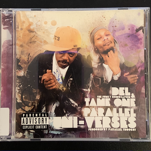 """Rare """"Parallel Uni-Verses"""" Del the Funky Homosapien & Tame One CD"""