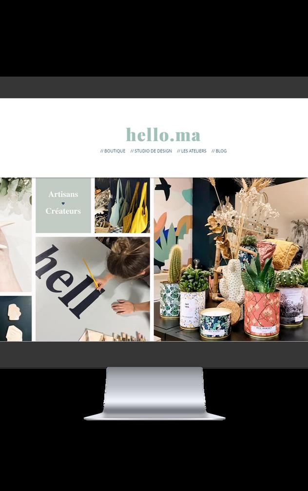 Refonte site Helloma