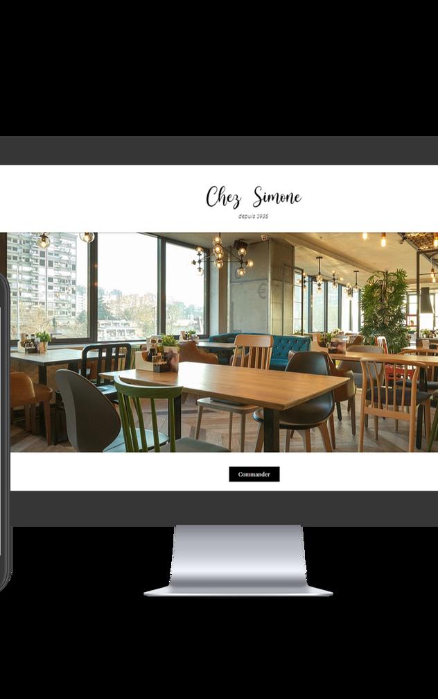 Site démo Chez Simone