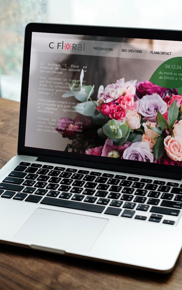 Site internet C Floral