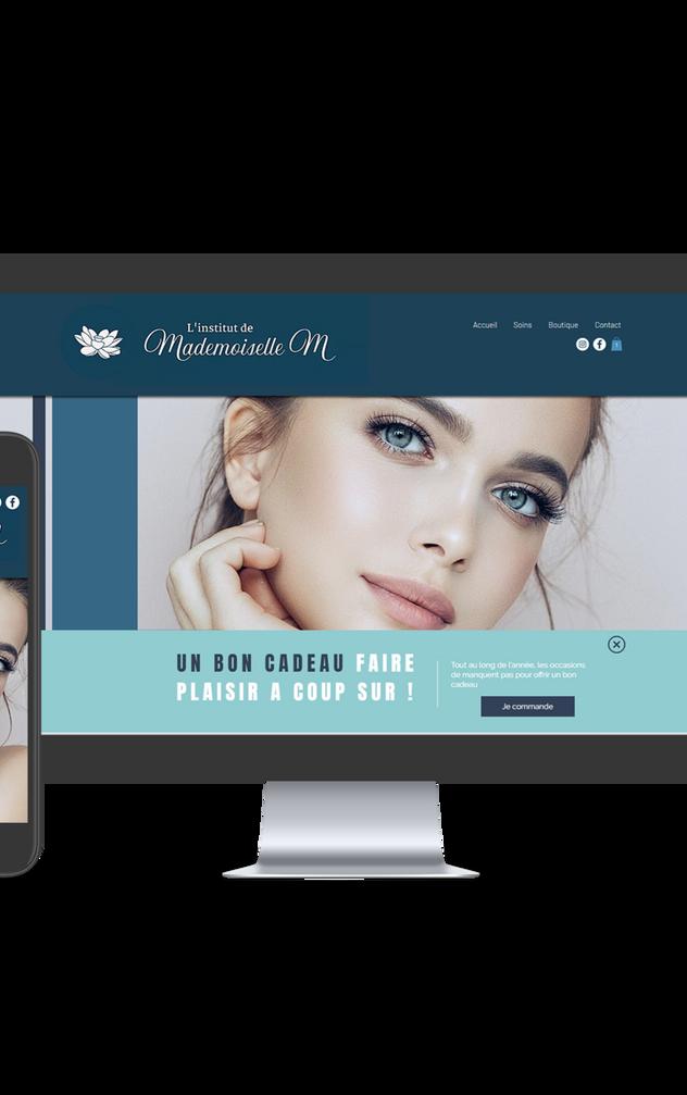 Site Institut de beauté
