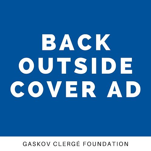 Advertising - Back Outside Cover