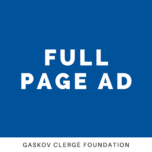 Advertising - Full Page