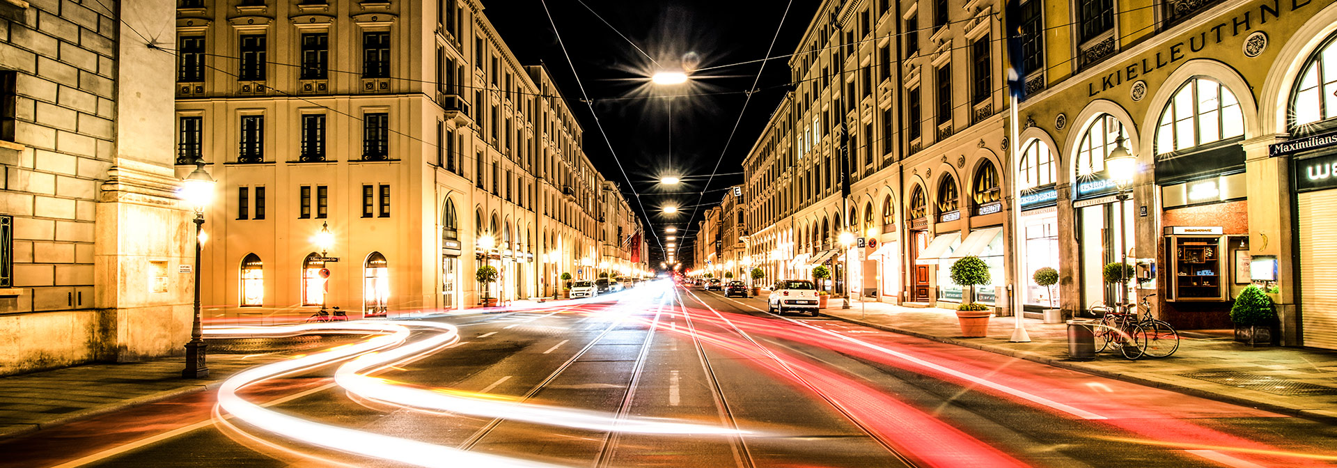 Maximilianstrasse at Night