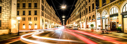 Maximilianstrasse at Night