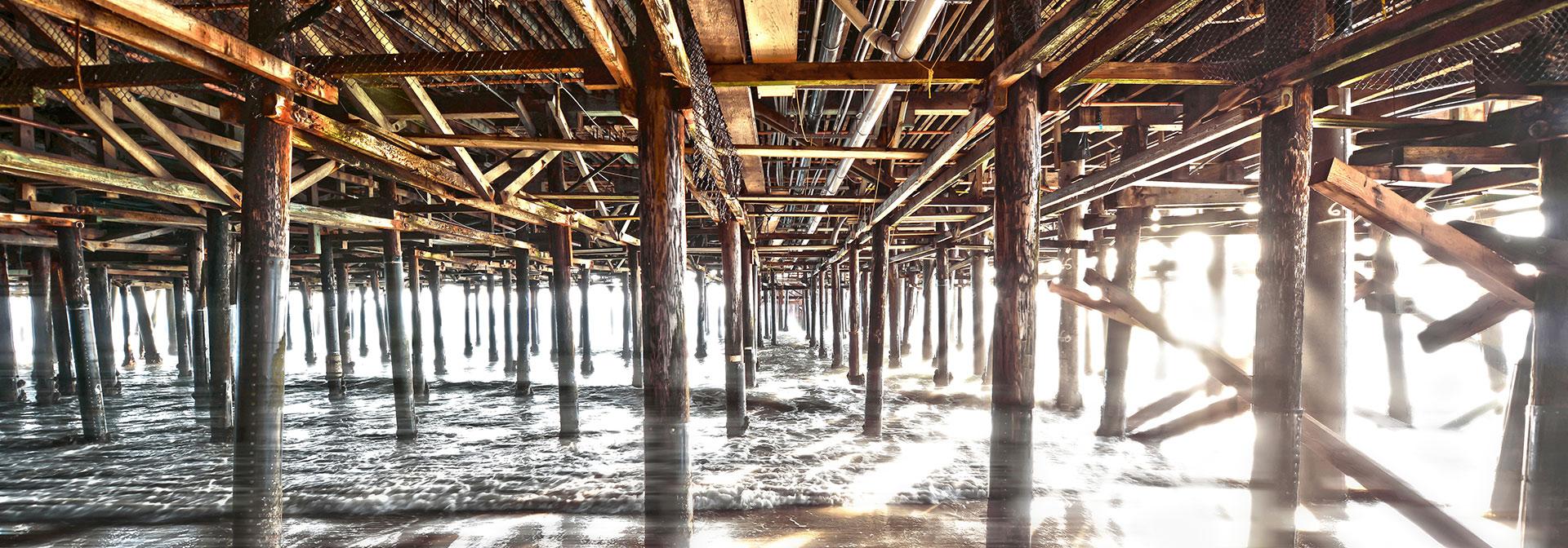 Under the Pier Santa Monica