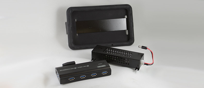 Tablet Mount, Power & Connection Kit
