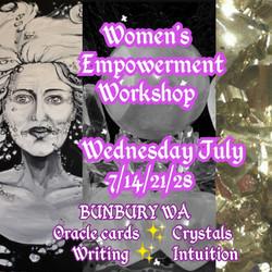 womens empowerment workshop Bunbury