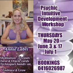 Bunbury WA psychic workshop