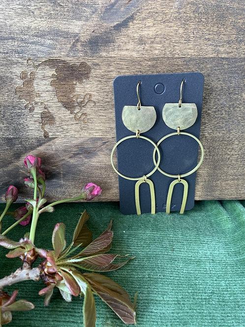 KEPT Geo Minimal Mix Earrings