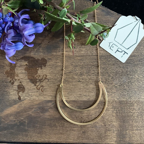 KEPT Cresent Moon Necklace