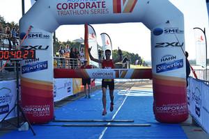 Pivotal Constructions wins the Sydney Corporate Triathlon Series