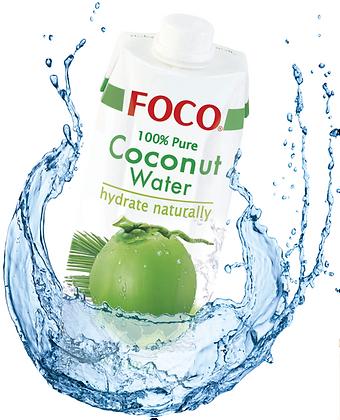 FOCO Coconut Water - 1Liter Carton 12pk