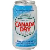 12oz can Canada Dry Original Seltzer 24pk