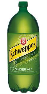 1Liter Schweppes Ginger Ale 12pk