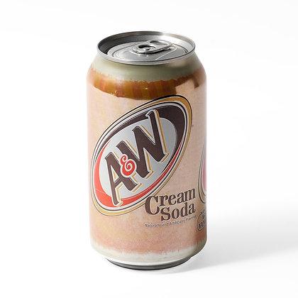 12oz can A&W Cream Soda 24pk